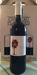 Photo bouteille vin primeur 2017