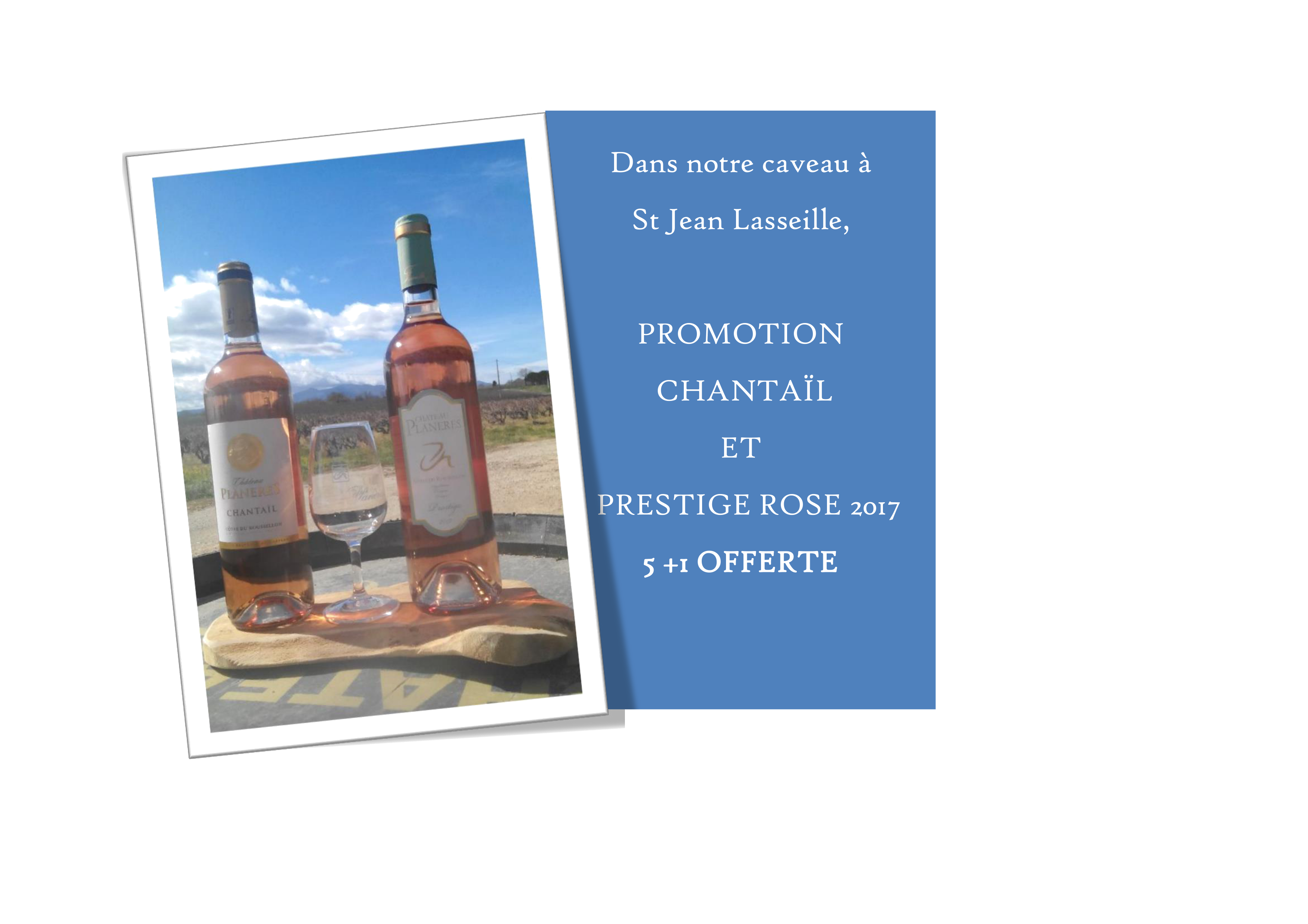 Promotion de Printemps Rosé 2017